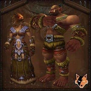 Mag'har Orc race boosting service in World of Warcraft US (WoW)