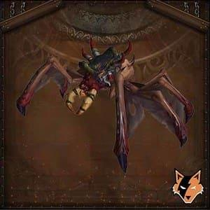 Tamed Bloodfeaster mount in World of Warcraft (WoW)