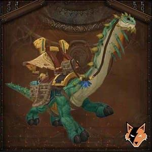 Reins of the Mighty Caravan Brutosaur mount in World of Warcraft (WoW)
