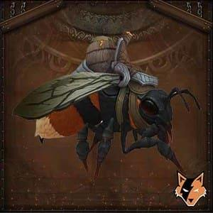 Amber Bee mount in World of Warcraft US (WoW)