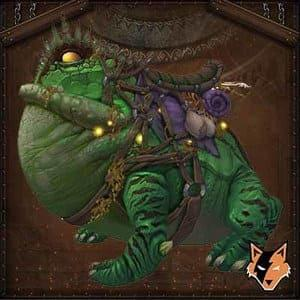 Green Marsh Hopper mount in World of Warcraft (WoW)