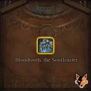 Bloodtooth, the Soulfeaster item