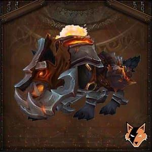 Iron Horde Wolf mount in World of Warcraft US (WoW)